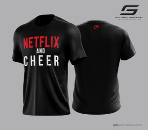 NETFLIX and CHEER T