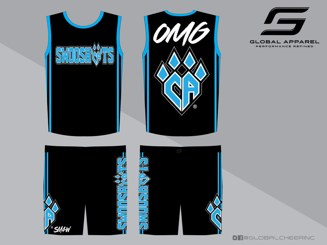 SWOOSHCATS Practice Wear (Male)