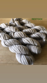 You're My Silver Medal - NZ Grown Milled and Dyed 14ply/Chunky Merino Wool Yarn