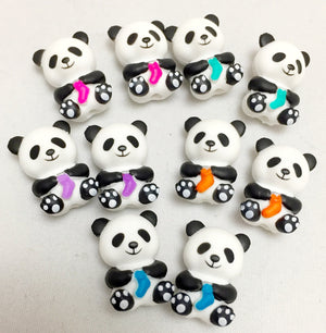 Load image into Gallery viewer, panda knitting needles covers