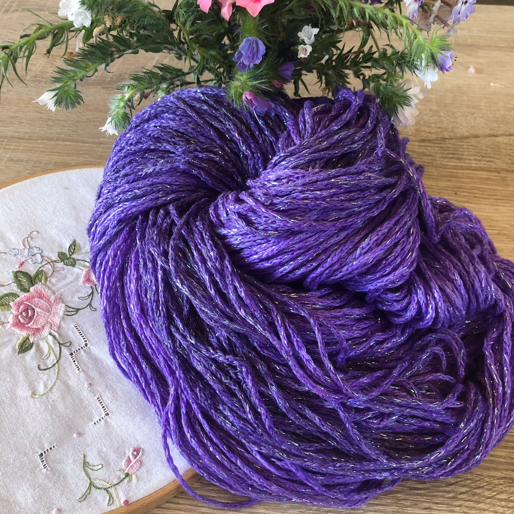 Most Enchanting Indeed - Unicorn Sparkles Worsted/Aran Weight Merino Chunky Wool Yarn