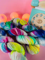 Kaleidoscope Eyes - Dreamy - NZ Grown Milled and Dyed Polwarth Alpaca