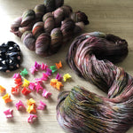 Unplugged  - Dreamy 4 ply NZ Grown Milled and Dyed Polwarth Alpaca