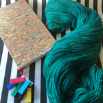 Spearmint - Vivid Heathers 4ply - NZ Grown Milled and Dyed Merino / Alpaca