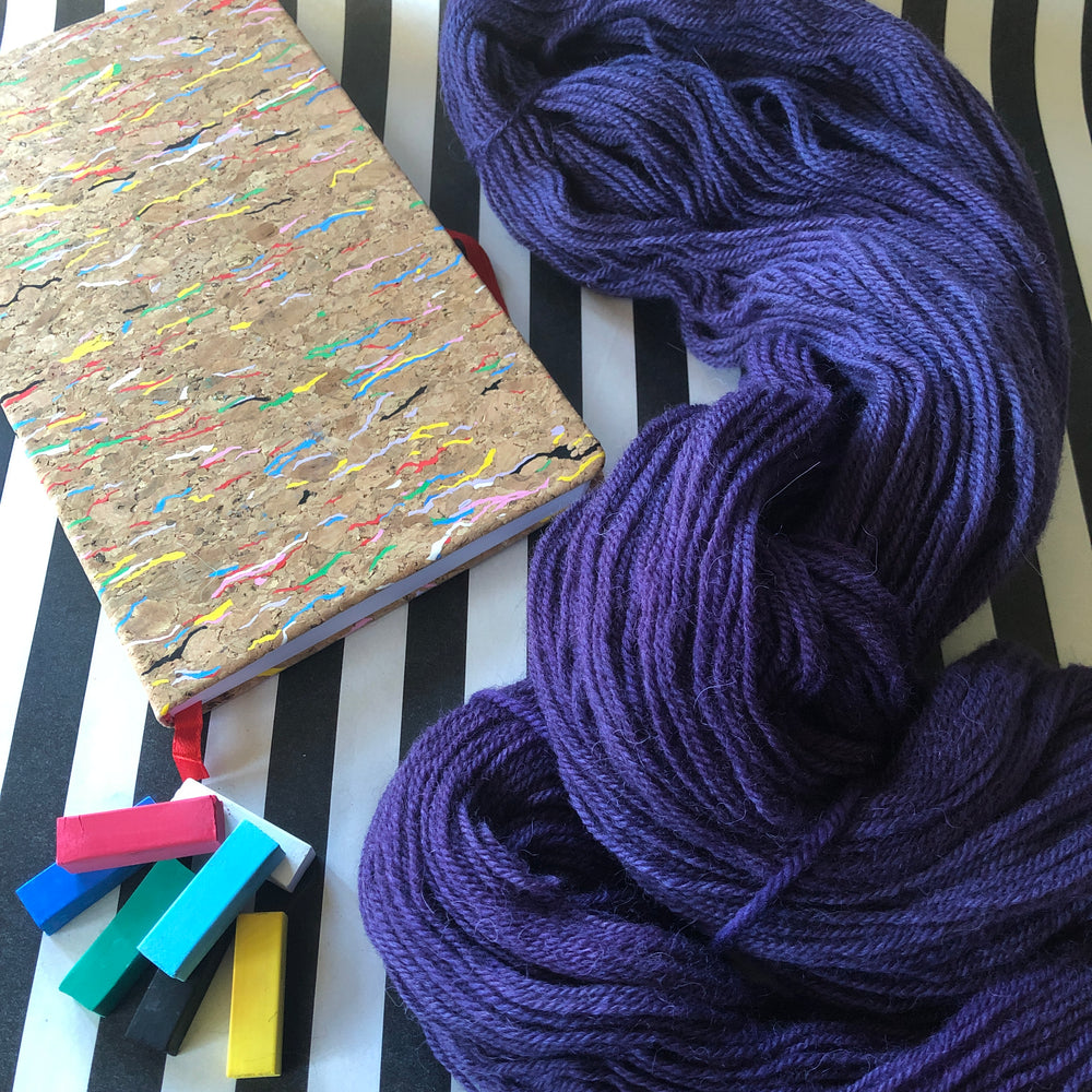 Eminence - Vivid Heathers 4ply - NZ Grown Milled and Dyed Merino / Alpaca