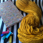 Gold - Vivid Heathers 4ply - NZ Grown Milled and Dyed Merino / Alpaca