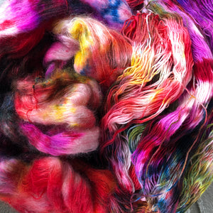 She Lives For Drama - Dreamy - NZ Grown Milled and Dyed Polwarth Alpaca
