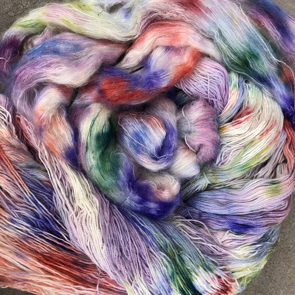 Load image into Gallery viewer, Sunday's Child - Kid Mohair Silk Fluff