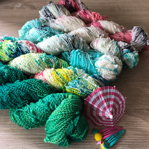 PRE ORDER - Summer Squeeze Collection - Squiggle Fingering Yarn