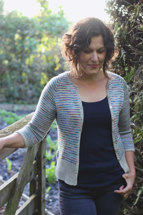 Timely Cardigan Truly Myrtle A5 Printed Pattern Booklet