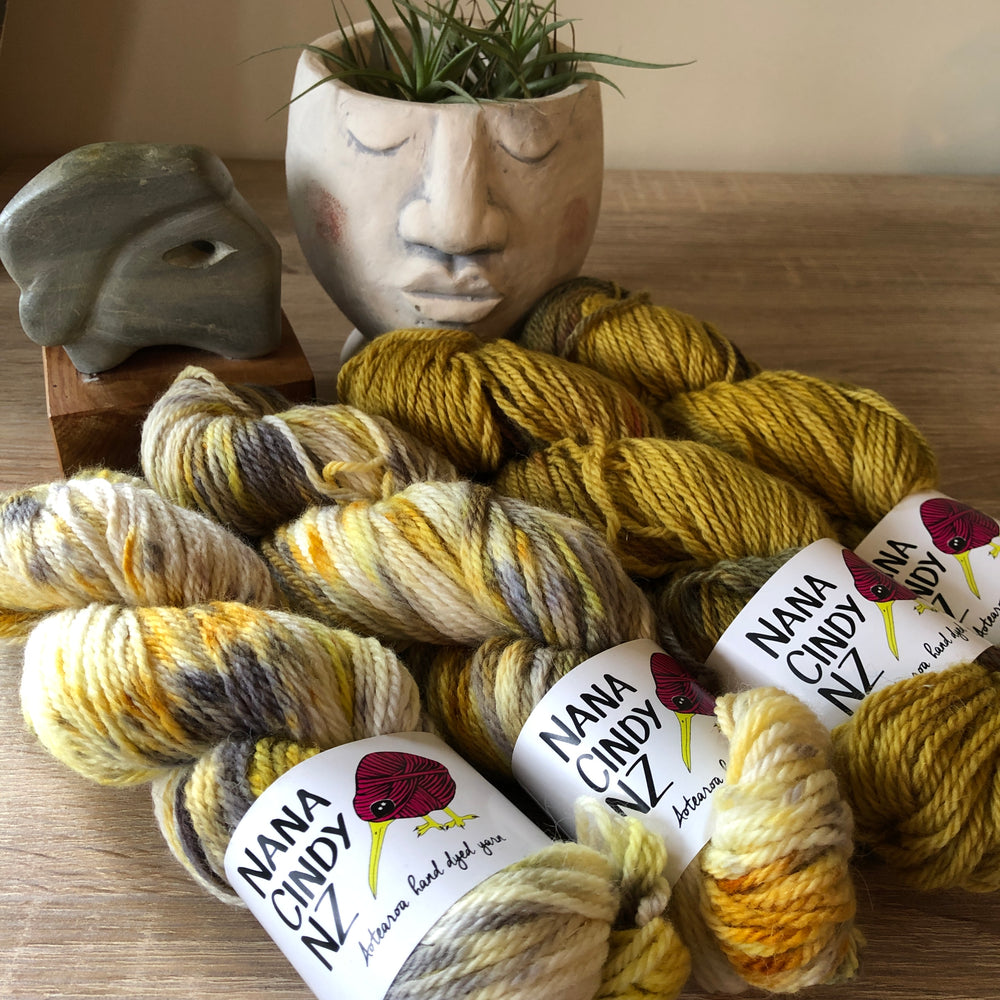 Grey Poupon Fade Kit - Sumptuous DK/10ply - The Woven Nana-Cindy Exclusive