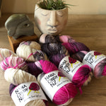 Pretty Prom Fade Kit - Dreamy NZ Grown Milled and Dyed Polwarth Alpaca