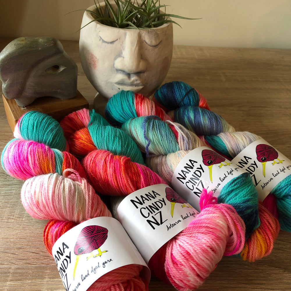Tropically Fit Fade Kit - Dreamy NZ Grown Milled and Dyed Polwarth Alpaca