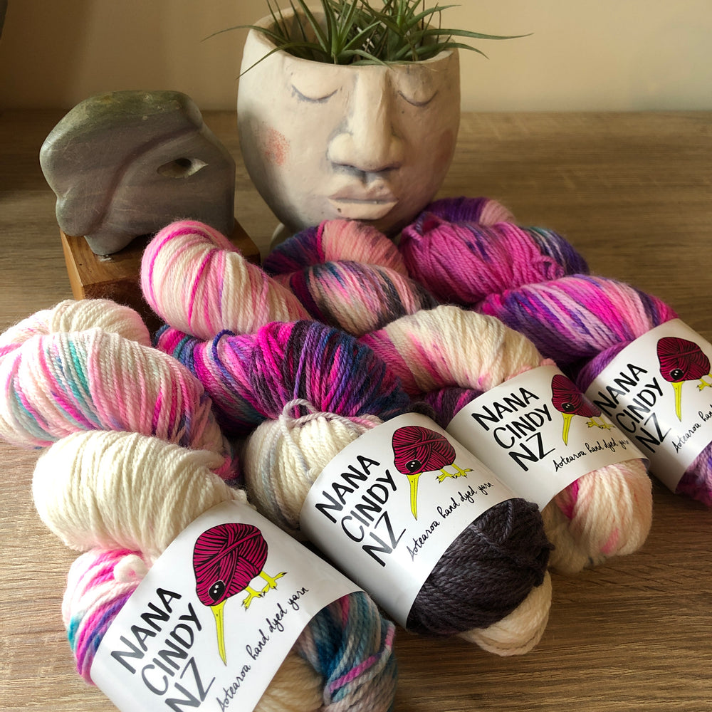 Plastic Fantastic Fade Kit - Dreamy NZ Grown Milled and Dyed Polwarth Alpaca