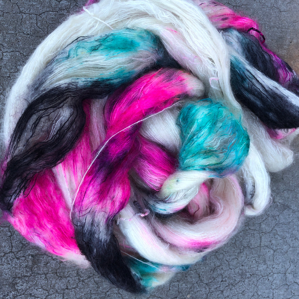 Life In Plastic - Kid Mohair Silk Fluff