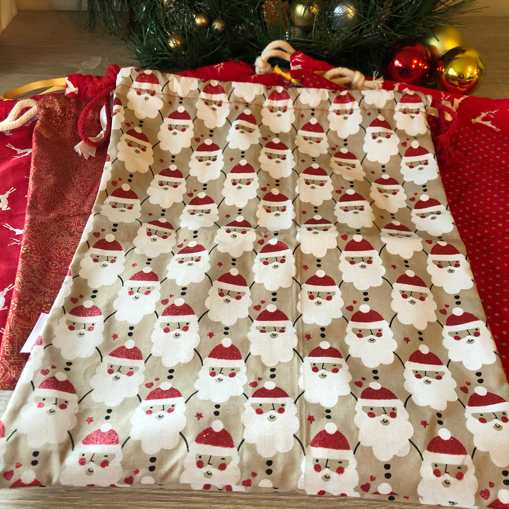Christmas Eco Present Wrap Bags by Aunty-Nana