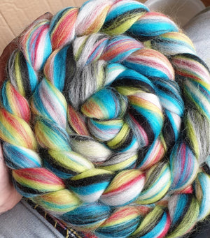 Load image into Gallery viewer, Good Karma Dye Candy Custom Blended Fibre
