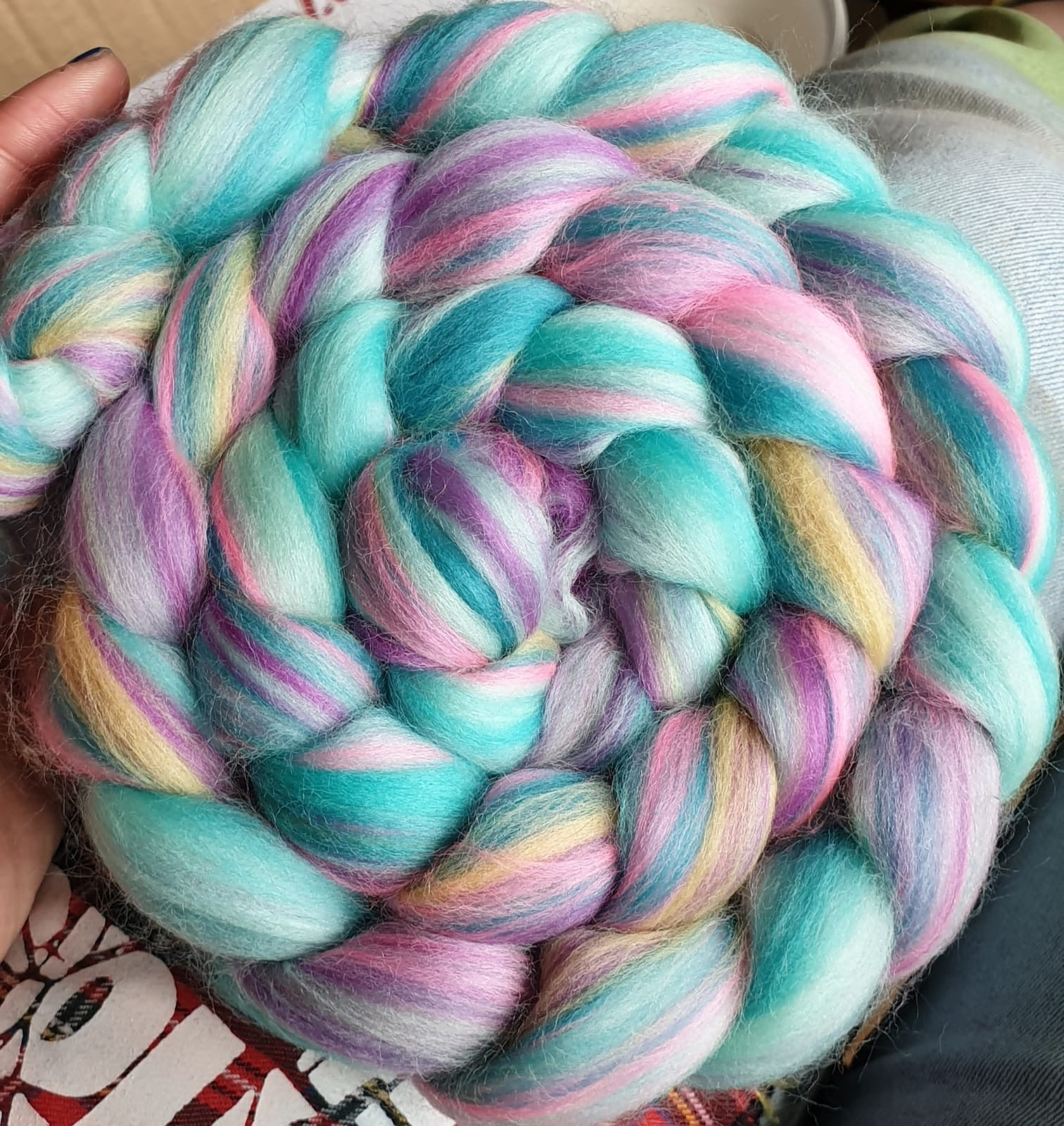 Floozy Dye Candy Custom Blended Fibre