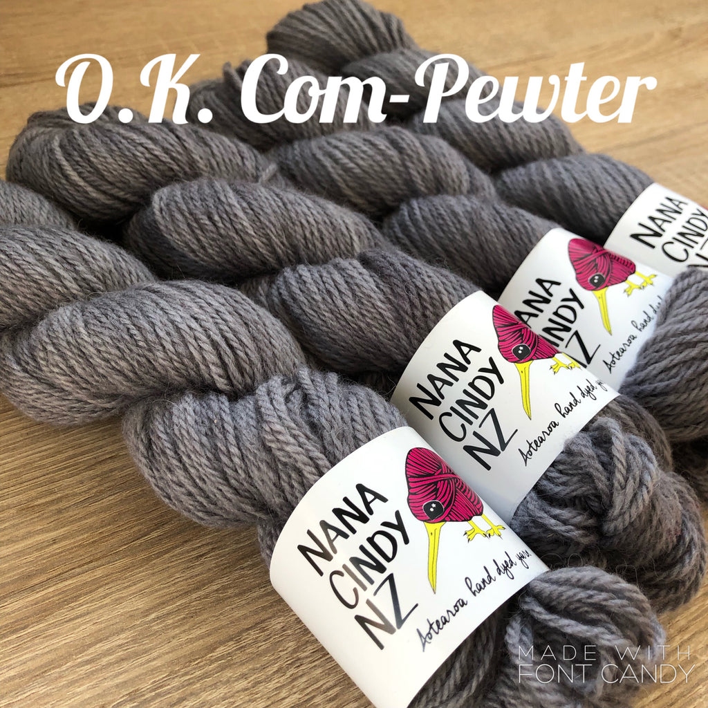 OK Com-Pewter - Sumptuous - The Woven Nana-Cindy Exclusive