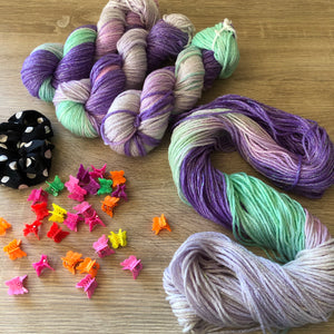 Load image into Gallery viewer, Care Bear - Unicorn Sparkles Worsted/Aran Weight Merino Chunky Wool Yarn