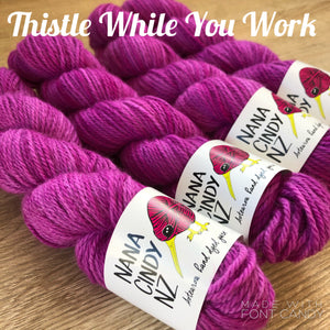 Thistle While You Work - Sumptuous - The Woven Nana-Cindy Exclusive