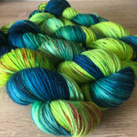 Monstera Leviosa - NZ Milled and Dyed 4ply Merino Nylon