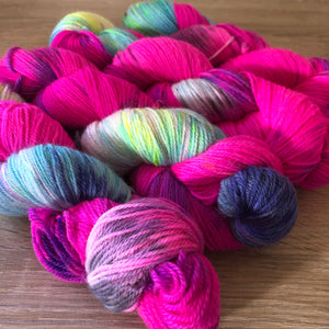 Donut Sprinkles - Dreamy - NZ Grown Milled and Dyed Polwarth Alpaca