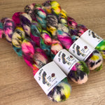 Kiwi Rainbow Nana Cindy Exclusive Dye Candy Cloud Yarn