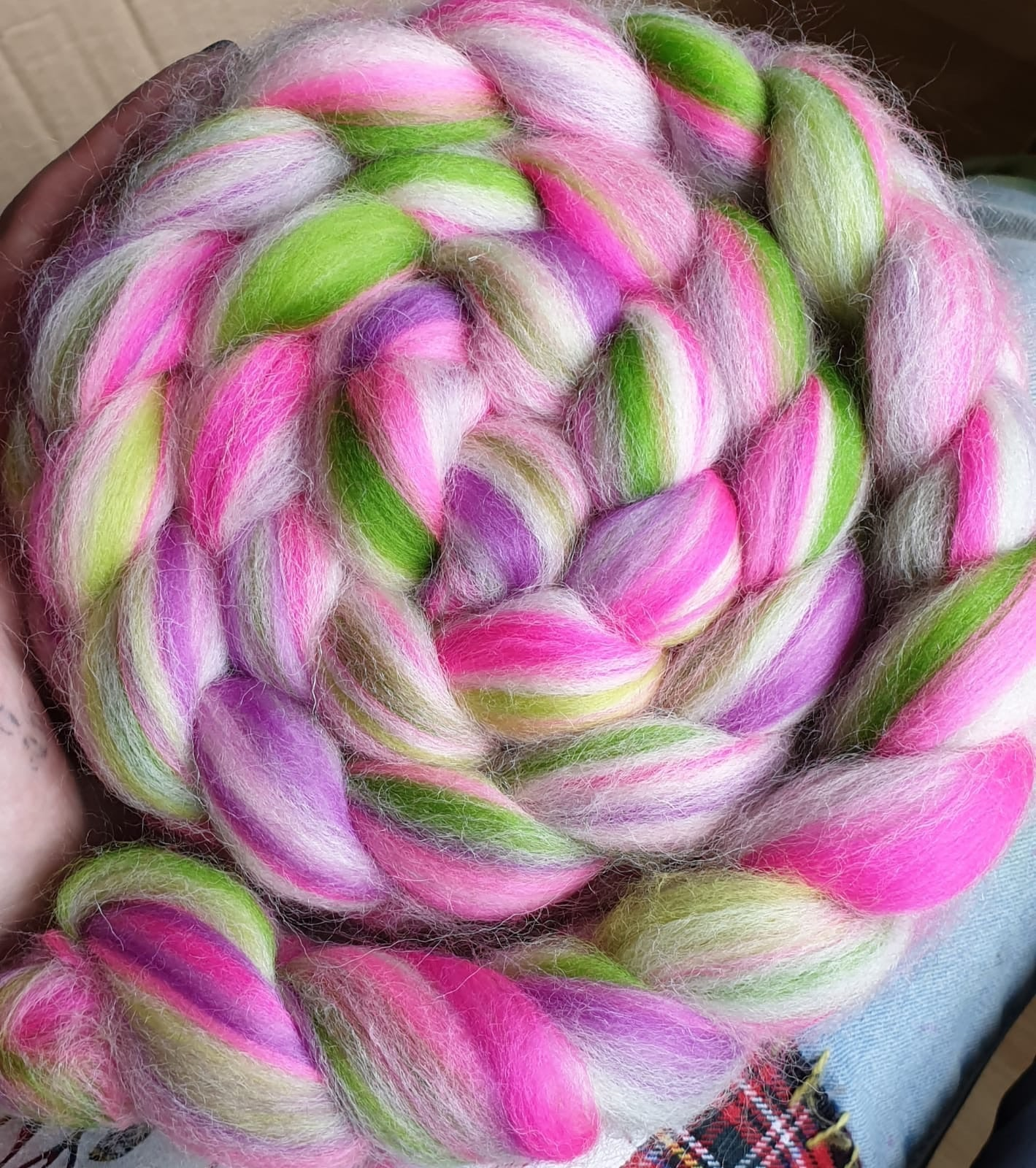 Pixie Dust Dye Candy Custom Blended Fibre