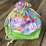 Easter Drawstring Project Bag by Aunty-Nana