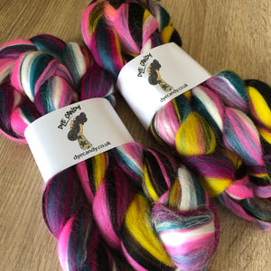 Led Zep Dye Candy Custom Blended Fibre