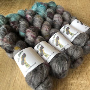 Blue Dye Candy Cloud Yarn