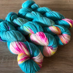 What Even Is Blue Raspberry - Sumptuous DK/10ply - The Woven Nana-Cindy Exclusive