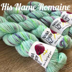His Name Romaine - Sumptuous DK/10ply - The Woven Nana-Cindy Exclusive