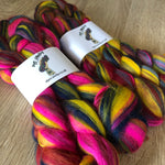 Spicy Dye Candy Custom Blended Fibre