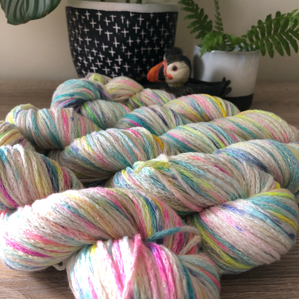 Cupcake Confetti Unicorn Sparkles Worsted/Aran Weight