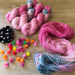 Truly Outrageous  - Unicorn Sparkles Worsted/Aran Weight Merino Chunky Wool Yarn