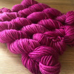 Raspberry Rascal NZ Grown Milled and Dyed 14ply/Chunky Merino