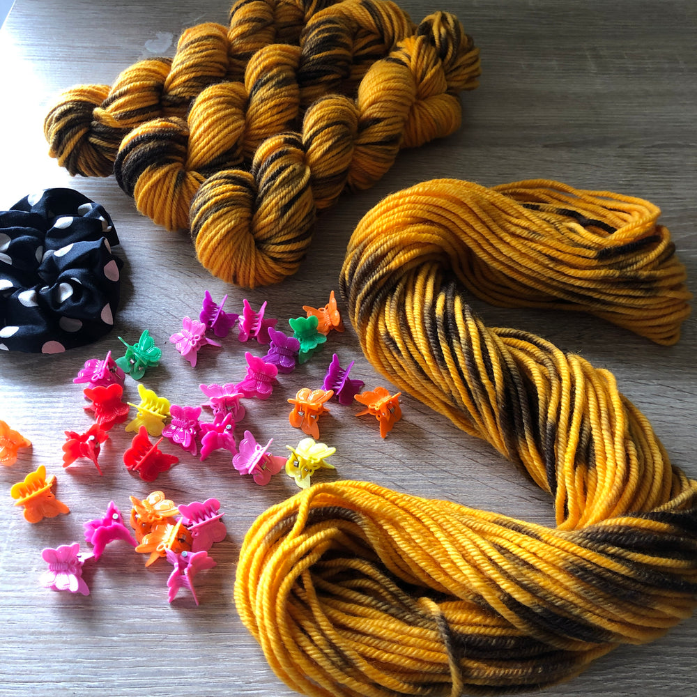 Sunflowers - NZ Grown Milled and Dyed 14ply/Chunky Merino