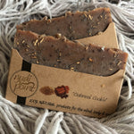"Nudi Point Body Bar Soap ""Oatmeal Cookie"""