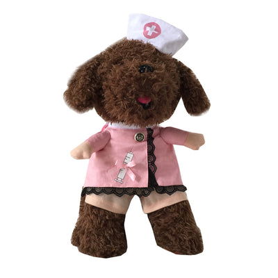 Nurse Clothing Halloween Pet  Clothes dog costume