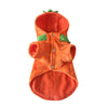 Autumn and winter dog clothes Christmas Halloween devil pumpkin pet transfiguration costume