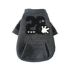 Black 28 casual jacket puppy autumn and winter pet clothes