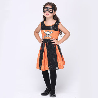 Girls Halloween Costume Cosplay hero suit