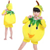 Yellow Apple Children fruits vegetables costumes