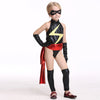 Kids Halloween Costume Cosplay masked Superman Costume