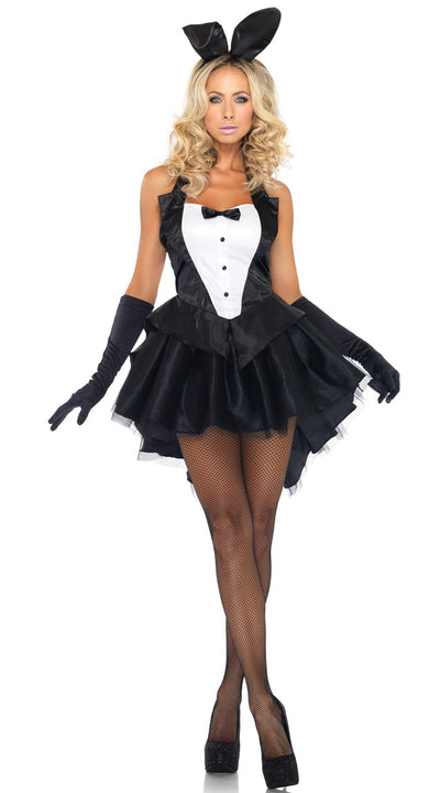 Black Sexy Swallowtail Womens Costumes for Christmas and Halloween