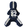 Blue 82 casual sweater suit pet clothes dog costume