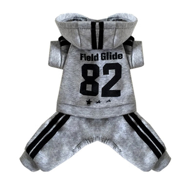 Gray 28 casual jacket puppy autumn and winter pet clothes