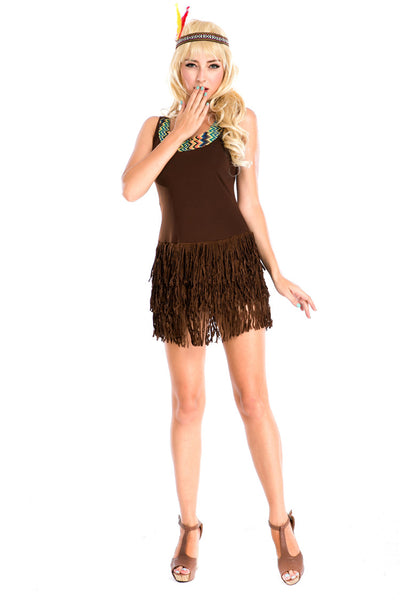 Indian Tribal Princess Costumes for Party and Halloween